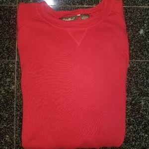 Eddie Bauer Red sweater mens XXL